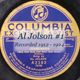 Al Jolson #1 Recorded 1912 - 1924 CD099a