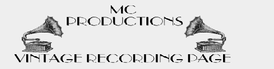 M.C.Productions Vintage Recordings